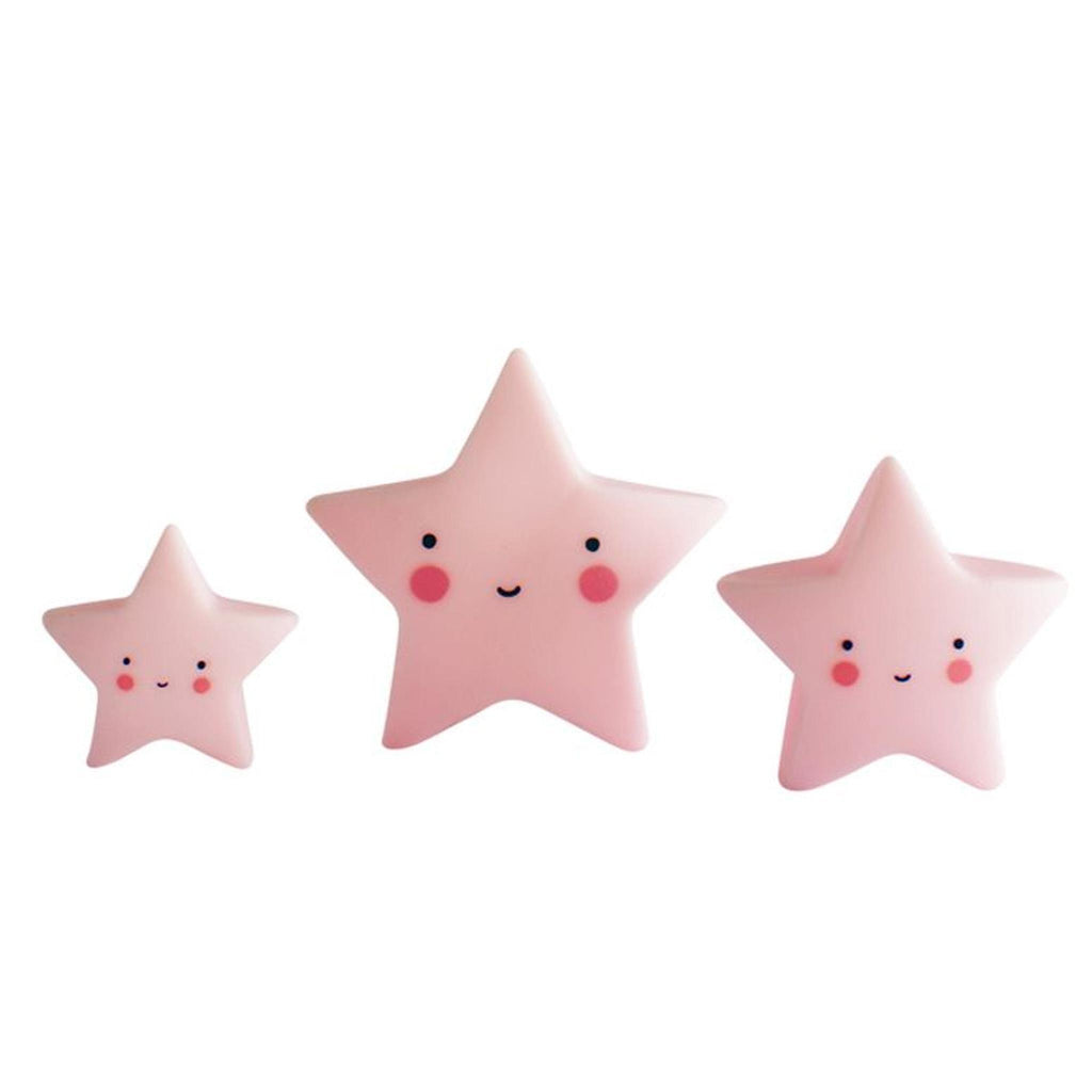 MINI ESTRELLAS ROSA DECORATIVAS LITTLE LOVELY - Farmashopping