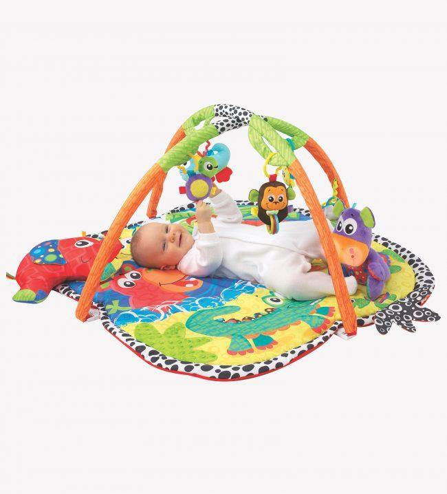 GIMNASIO JINGLE JUNGLA LUCES Y SONIDO PLAYGRO - Farmashopping