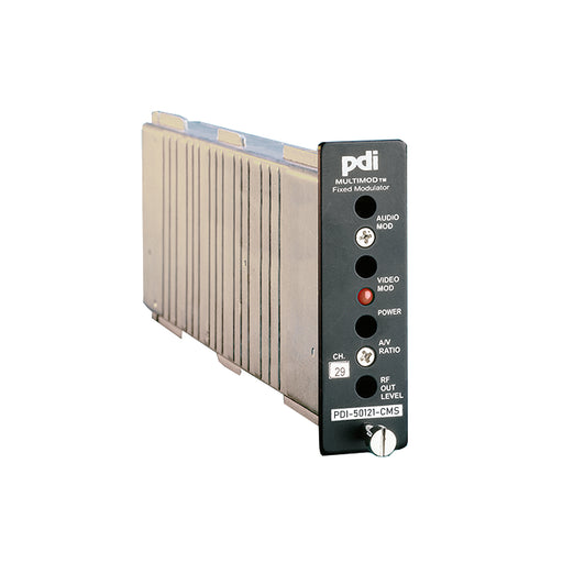 PDI-50121CMS SAW Filtered Fixed Channel 12 in 1 Stereo Mini Modulator For Channels 2 - 134