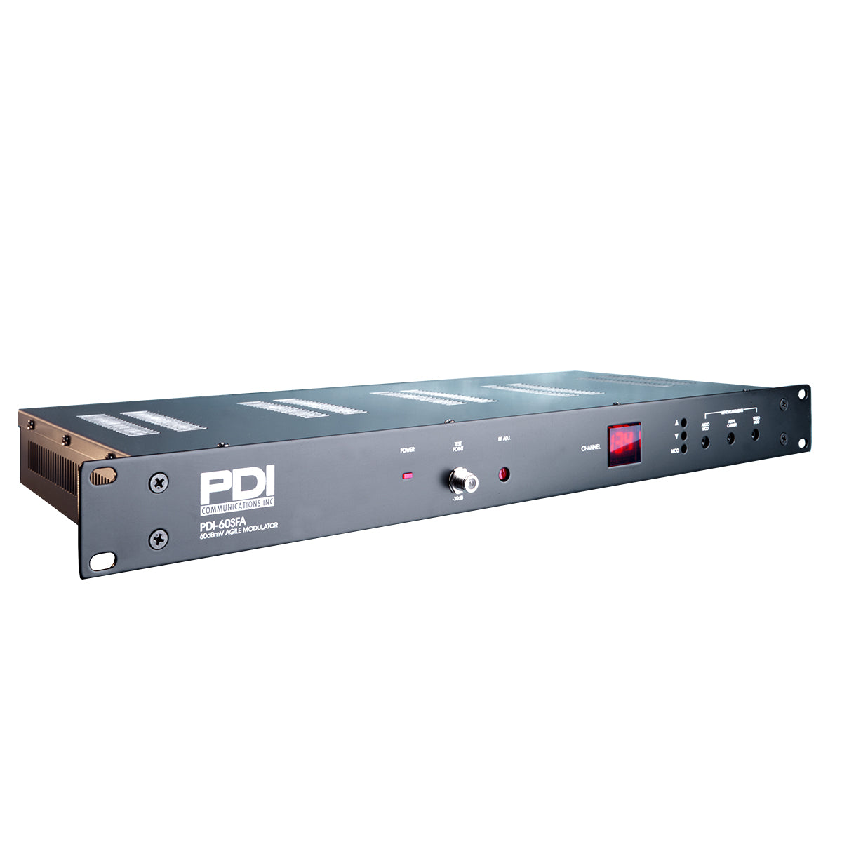 PDI-60SFA 860MHz 60dBmV Low Cost High Performance SAW Filtered Frequency Agile Modulator