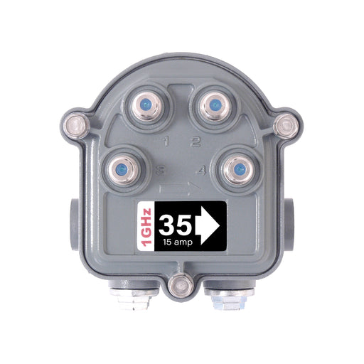 SB-4/35G/SR 1GHz Outdoor Hardline Multitap 4 Way 35dB