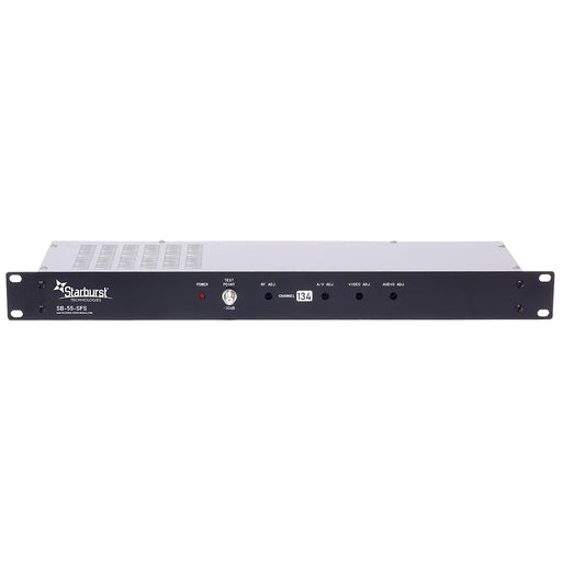 SB-55-SFS Analog 55dBmV SAW Filtered CATV Stereo Modulator Available In Channels 2-134