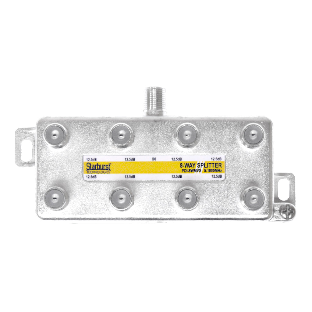 SB-8WMS 1GHz Mega Splitter 8 Way Vertical 5 - 1000 MHz