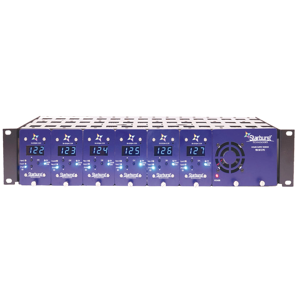 SB-50121-PS Power Supply For Up To 6 SB-HDQP-2130 ATSC to QAM Agile HDTV Processors