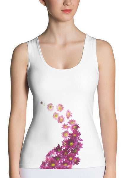 Daisies Curve Tank Top
