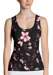 Butterfly Sakuras Tank Top