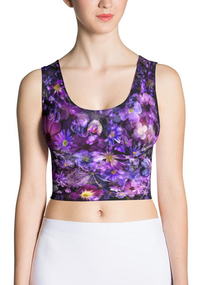 Violet Wind Crop Top
