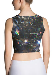 Diamond Refraction Crop Top