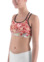 Lively Blossoms Sports Bra