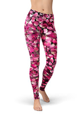 Rosa Rose Petals Leggings