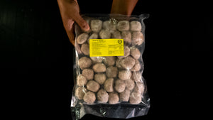 Beef Ball XL Abang Burn * 1 box x ~400pcs x ~25gm (~10kg) [BORONG]