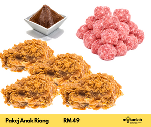 Pakej Anak Riang - 3 items - [READY TO COOK]