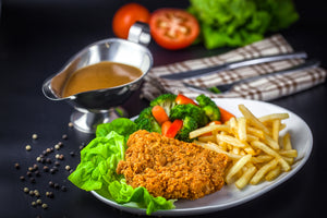 Hot & Spicy Chicken Chop (Thigh) * 1 carton x 6 pack x 8 pcs [PATTY AYAM CRISPY]