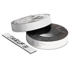 Dry Erase Magnetic Label Tape, White,1