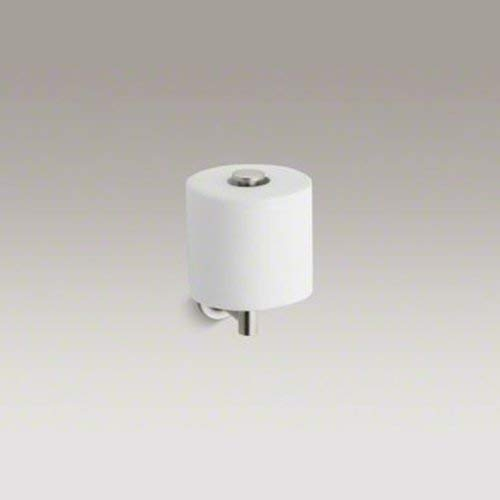 Kohler 504549 Purist Toilet Paper Holder, Vibrant Brushed Nickel