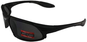 Global Vision Lab Safety Shop Glasses (Black Frame/Smoke Lens)