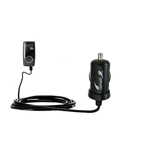 2 Amp (10W) Mini Car/Auto DC Charger Compatible with Coby MP601 Video MP3 Player - Amazingly Small and Powerful 10W Design, Built with Gomadic Brand TipExchange Technology
