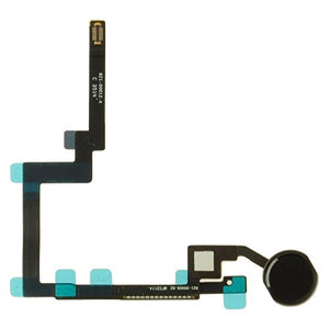 Flex Cable (with Home Button) for Apple iPad Mini 3 (Black) with Glue Card