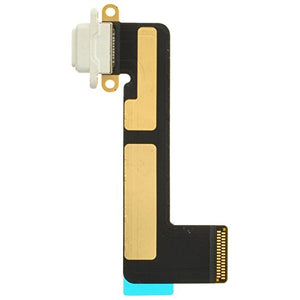 Charge Port (Flex Cable) for Apple iPad Mini (White) with Glue Card