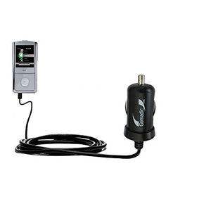 Mini 10W Car / Auto DC Charger designed for the RCA M4304 Opal Digital Media Player with Gomadic Brand Power Sleep technology - Designed to last with TipExchange Technology