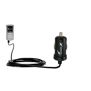 Mini 10W Car/Auto DC Charger Designed for The RCA M4202 Opal Digital Media Player with Gomadic Brand Power Sleep Technology - Designed to Last with TipExchange Technology