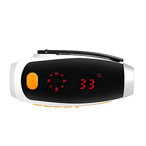 HW Multifunction Digital Compass LED Backlight Electronic Waterproof,Measure Direction, Height, Temperature, Air Pressure,Humidity