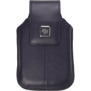 BlackBerry Durable Indigo Pouch Case with Swivel Holster for Torch 9800