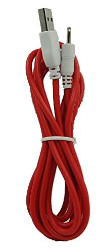 Smays 10 Feet Long Data and Charging Cord for Nabi 2 II NABI2-NV7A NABI2-NVA, 3 Meters,Colors may vary(Pink/red)