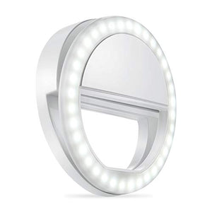 Whellen Selfie Ring Light With 36 Led For Phone/Tablet/I Pad Camera [Ul Certified] Portable Clip On F