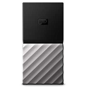 WD 256GB My Passport SSD Portable Storage - USB 3.1 - Black-Gray - WDBKVX2560PSL-WESN