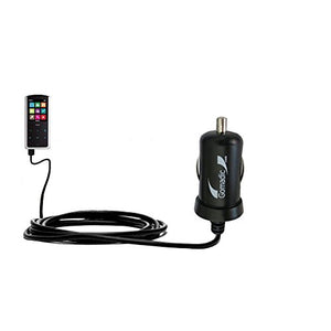 2 Amp (10W) Mini Car/Auto DC Charger Compatible with RCA M4808 Lyra Digital Media Player - Amazingly Small and Powerful 10W Design, Built with Gomadic Brand TipExchange Technology