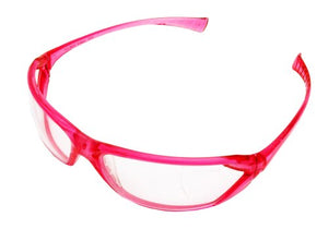Gateway Safety 23PK80 Metro Ultra-Stylish Eye Safety Glasses, Clear Lens/Pink Frame