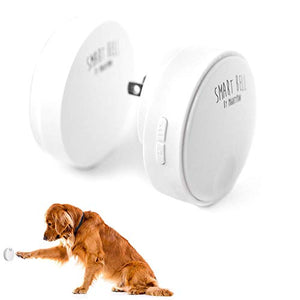 Mighty Paw Smart Bell 2.0, Dog Potty Communication Doorbell, Super-light Press Button Doorbell (1 Activator, White)