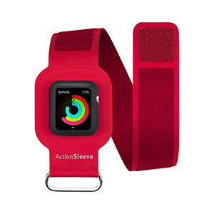 Twelve South Action Sleeve For Apple Watch | Armband For 38mm Apple Watch (Red)