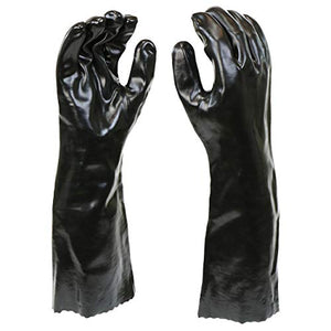 West Chester 12018-L 12018 Chemical Resistant PVC Coated Work Gloves: 18