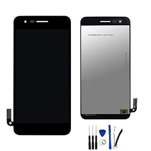 Full LCD Display With digitizer touch screen For L G K8 2018/Aristo 2 LMX210MA MetroPCS/Tribute Dynasty SP200/Zone 4 X 210V/K9 2018 LMX210NMW/Rebel 3 L158C L158VL L157BL Assembly replacement black
