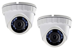 (2X) LTS CMHT2122-28 HD-TVI 2.1MP 1080P 2.8mm Smart IR LED 65ft Security Camera