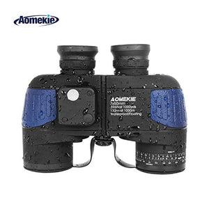 Aomekie Marine Binoculars Night Vision For Adults, 7 X50 Military Binoculars Waterproof Fogproof With
