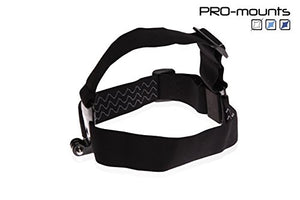 pro-mounts Headstrap Mount + Bracket for Gopro Black
