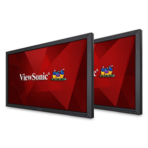 ViewSonic VA2252SM_H2 22 Inch Dual Pack Head-Only 1080p LED Monitors with DisplayPort DVI and VGA, Black