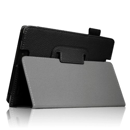 "Fintie Folio Case for Kindle Fire HD 7"" (2013 Old Model) - Slim Fit Folio Case with Auto Sleep/Wake Feature (Will only fit Amazon Kindle Fire HD 7, Previous Generation - 3rd), Black"