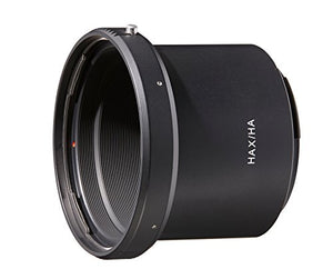 Novoflex HAX/HA Adapter Hasselblad V-Lenses to X-Mount (X1D), Black