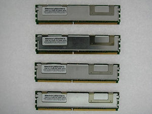 Memorymaster 8GB Kit (4x2GB) Fully Buffered Memory Ram for DELL SERVERS AND WORKSTATIONS. Dell PowerEdge 1900 1950 1950 III 1955 2900 2900 III 2950 2950 III M600 R900 SC1430 T110 PowerVault NF500 NF60