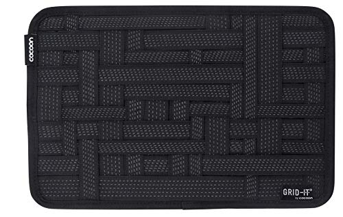 "Cocoon CPG10BK GRID-IT! Accessory Organizer - Medium 12"" x 8"" (Black)"