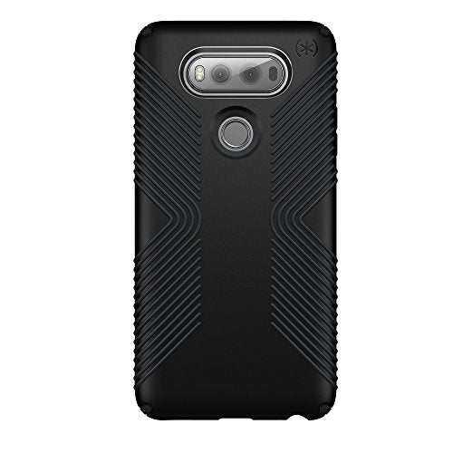 Speck Products Presidio Grip Cell Phone Case for LG V20 - Black/Black
