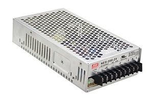 Enclosed Type 212.4W 36V 5.9A NES-200-36 Meanwell AC-DC Single Output NES-200 Series MEAN WELL Switching Power Supply