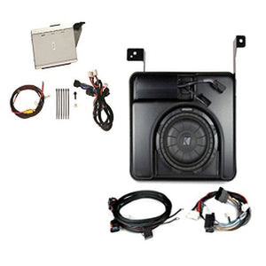 GM # 19303115 Kicker? 200 / 400 Watt Powered Subwoofer and Amp, Double Cab GENUINE GM ACCESSORIES