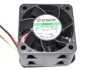 SUNON 4028 GM1204PQB1-8A 12V 2.6W 3Wire Cooling Fan
