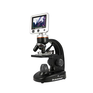 Celestron â?? Lcd Digital Microscope Ii â?? Biological Microscope With A Built In 5 Mp Digital Camera