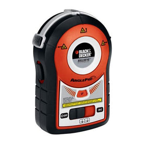 Black+Decker Line Laser, Auto Leveling With Angle Pro (Bdl170)
